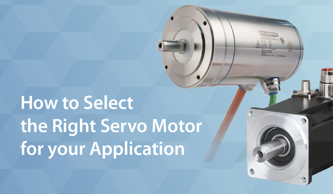 How to Select the Right Servo Motor
