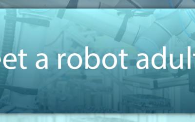 Meet a robot adult.