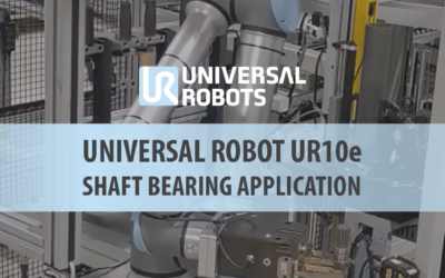 Fully Autonomous Shaft Bearing Press Cell in Action