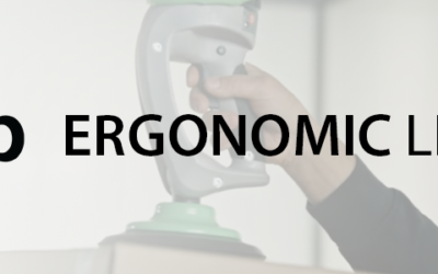 Piab Ergonomic Lifters: designed with natural movement in mind