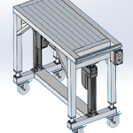 Electro-Mechanical Lift Table