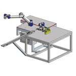 Robot Cell Press