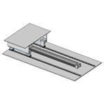 Rail Guided Pneumatic Slide
