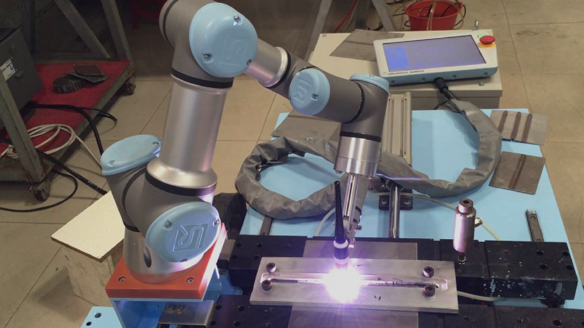 Universal Robots automates welding processes